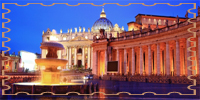 photo of Vatican and fountain